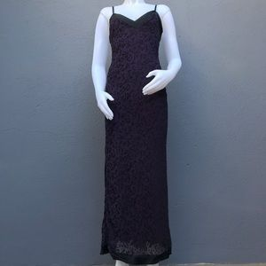 Betsey Johnson Silk Long Dress Medium
